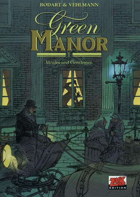 Green Manor 1: Mörder und Gentlemen - Das Cover