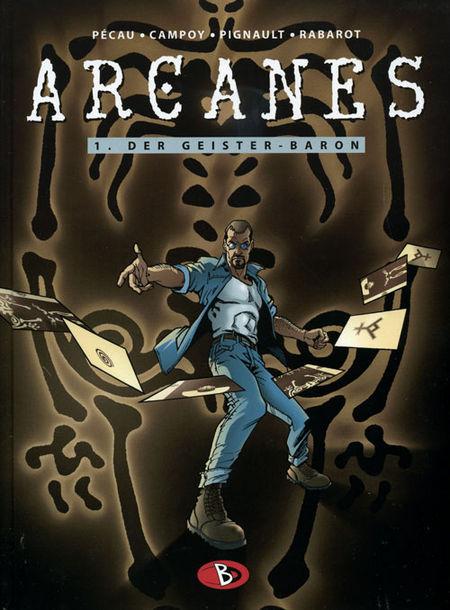 Arcanes 1: Der Geister-Baron - Das Cover