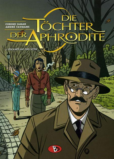 Die Töchter der Aphrodite 3: Jede Karte hat zwei Seiten - Das Cover