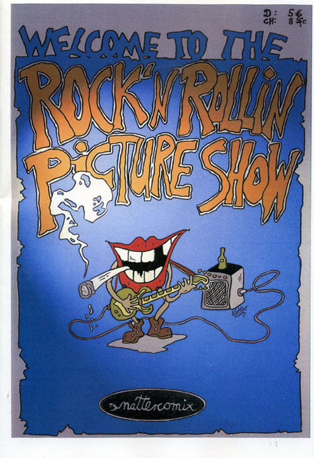 Rock'n'Rollin Picture Show - Das Cover
