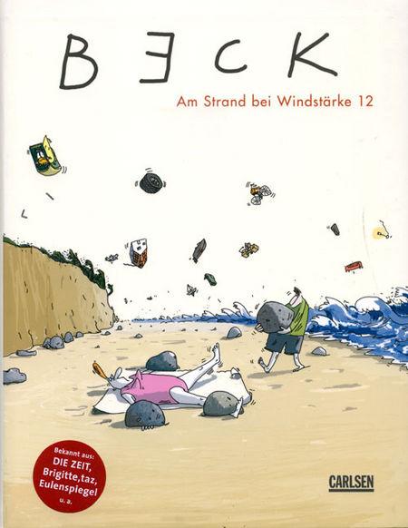 Am Strand bei Windstärke 12 - Das Cover