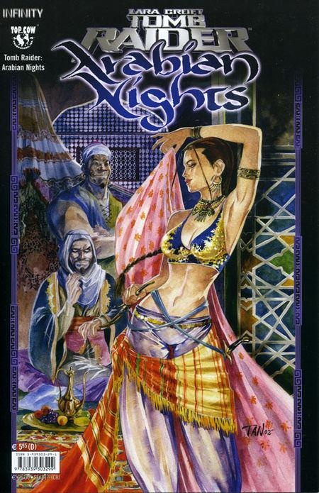 Tomb Raider: Arabian Nights - Das Cover