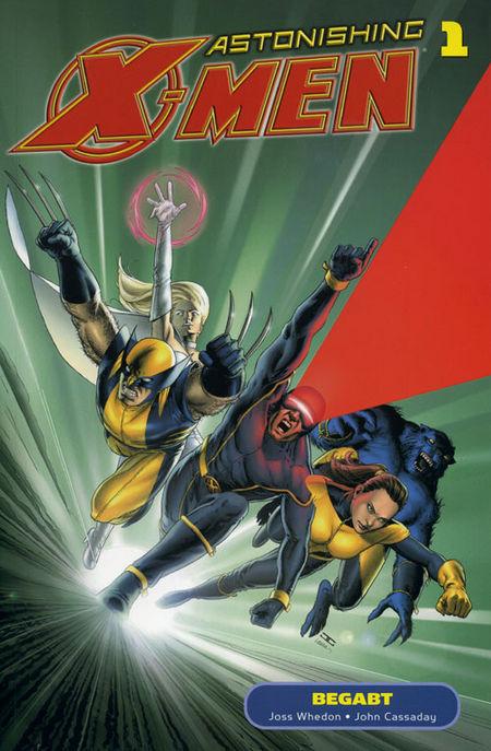 Astonishing X-Men 1: Begabt - Das Cover