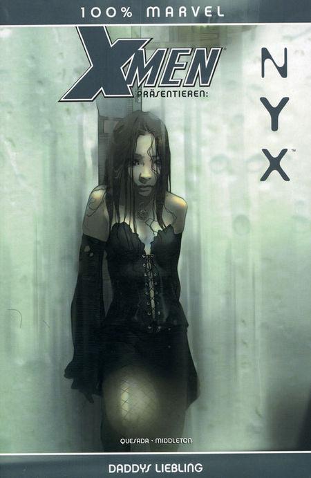 100 % Marvel #22: Nyx - Das Cover