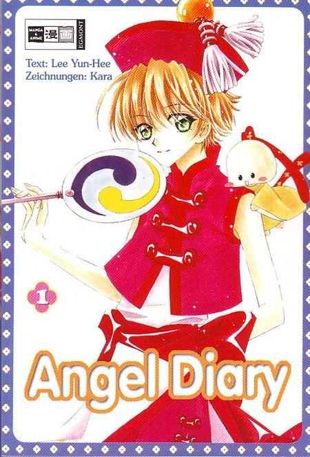 Angel Diary 1 - Das Cover