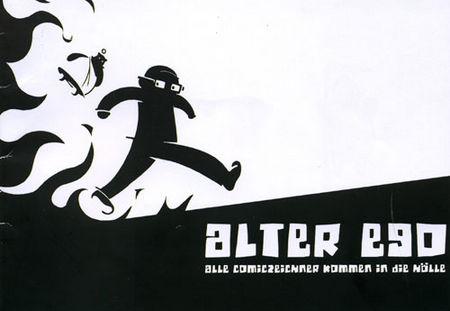 Alter Ego - Alle Comiczeichner kommen in die Hölle - Das Cover