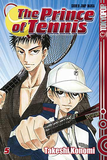 The Prince of Tennis 5 - Das Cover