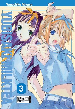 Yubisaki Milktea 3 - Das Cover