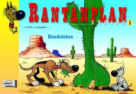 Rantanplan Strips 1: Hundeleben - Das Cover