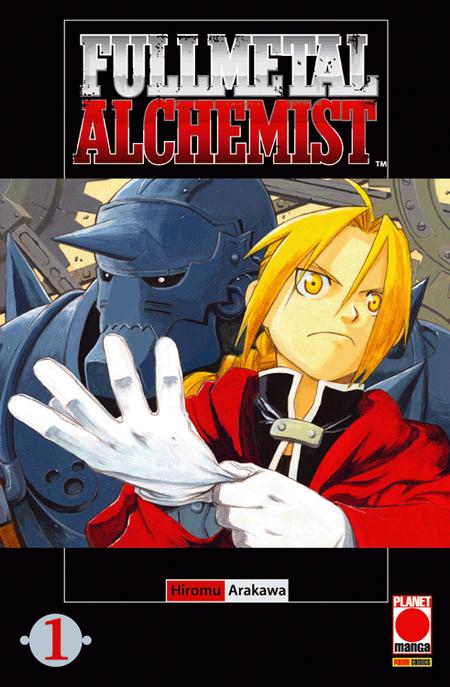 Fullmetal Alchemist 1 - Das Cover