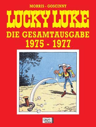Lucky Luke: Die Gesamtausgabe 1975 - 1977 - Das Cover