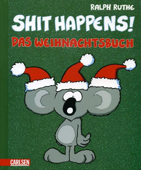 Shit Happens! - Das Weihnachtsbuch - Das Cover