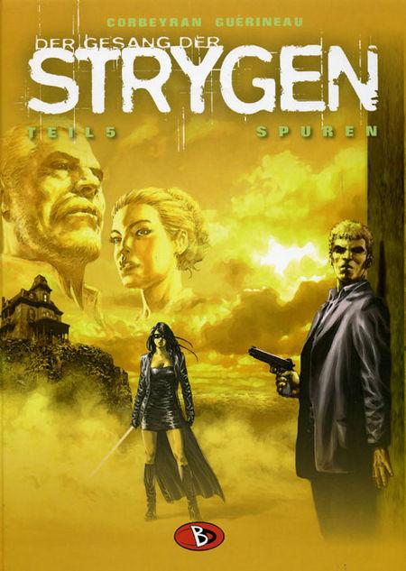 Der Gesang der Strygen 5: Spuren - Das Cover