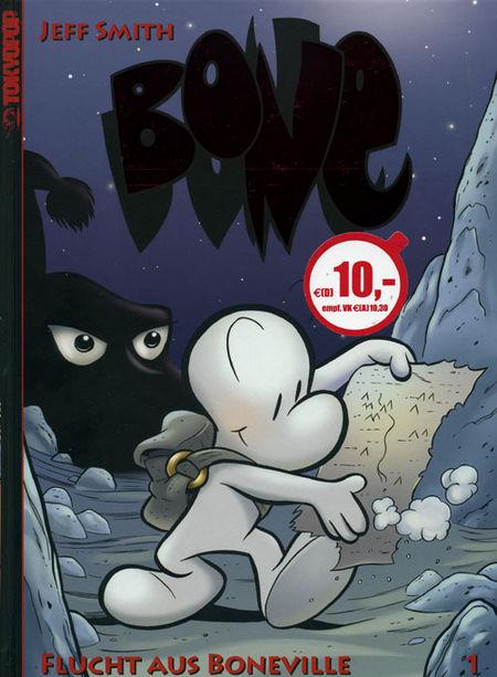 Bone 1 - Collectors Edition - Das Cover