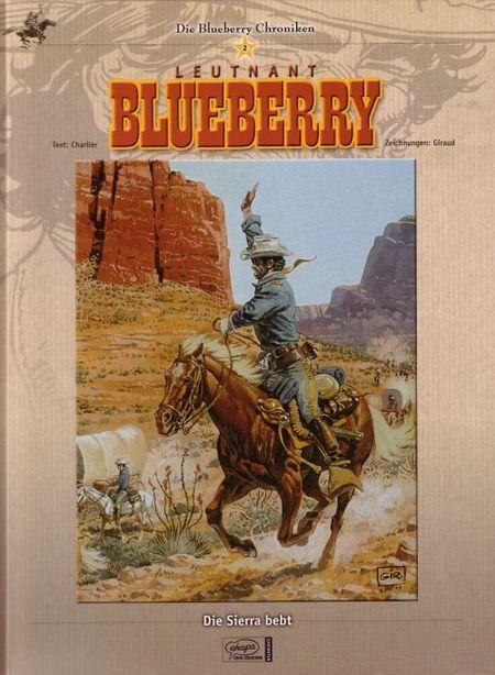 Leutnant Blueberry  - Die Sierra Bebt - Das Cover