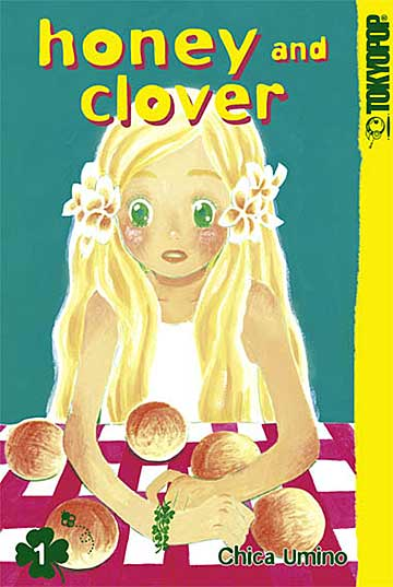 Honey & Clover 1 - Das Cover
