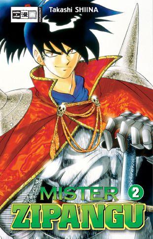 Mister Zipangu 2 - Das Cover