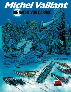 Michel Vaillant 53: Die Nacht von Carnac - Das Cover