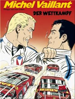 Michel Vaillant 65: Der Wettkampf - Das Cover