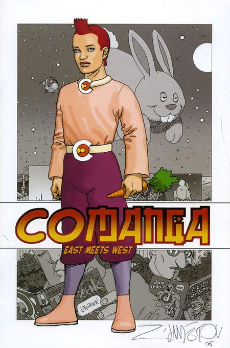 CoManga - West meets East - Das Cover