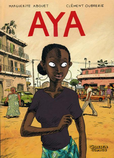 Aya 1 - Das Cover