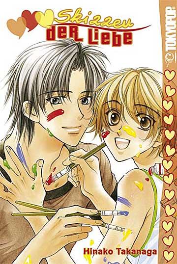 Skizzen der Liebe 1 - Das Cover