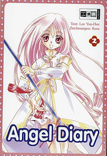 Angel Diary 2 - Das Cover