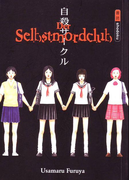 Der Selbstmordclub - Das Cover