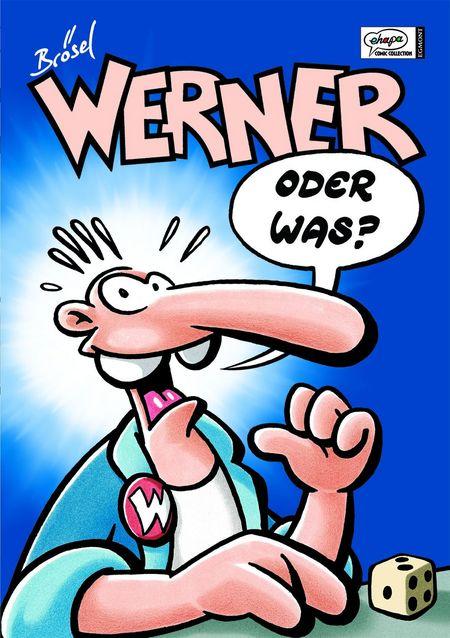 Werner Sammelbänder Band 1: Werner – oder was? - Das Cover