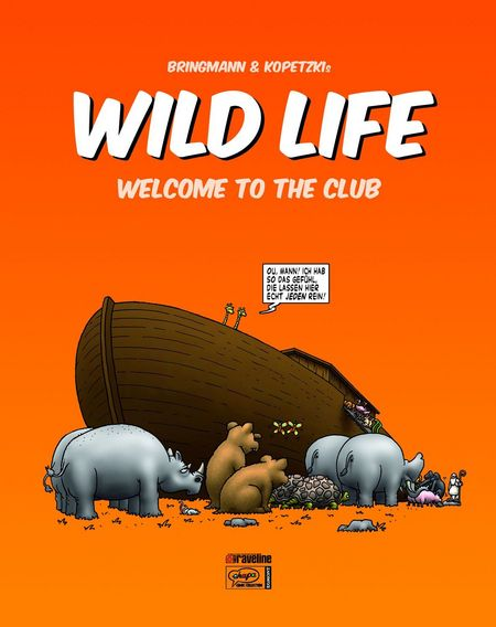 Wild Life - Welcome To The Club - Das Cover