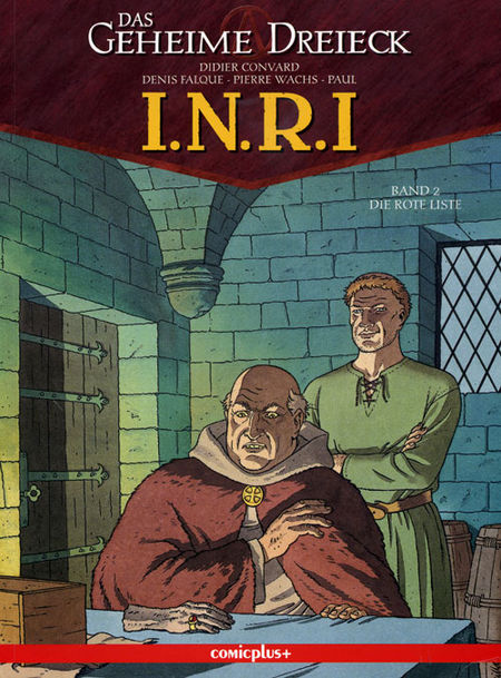 I.N.R.I. 2: Die rote Liste - Das Cover