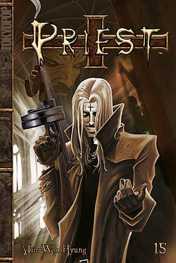 Priest 15 - Das Cover