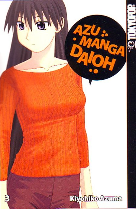 Azumanga Daioh 3 - Das Cover