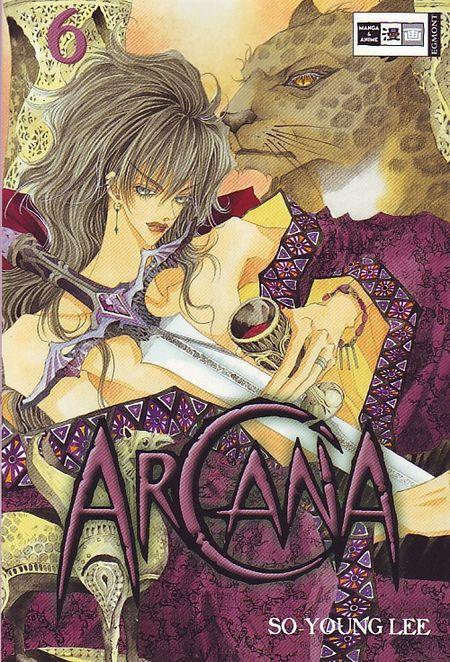 Arcana 6 - Das Cover