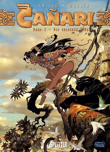 Cañari 1: Die goldenen Tränen - Das Cover