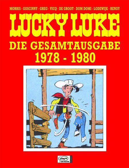 Lucky Luke - Die Gesamtausgabe 1978 - 1980 - Das Cover