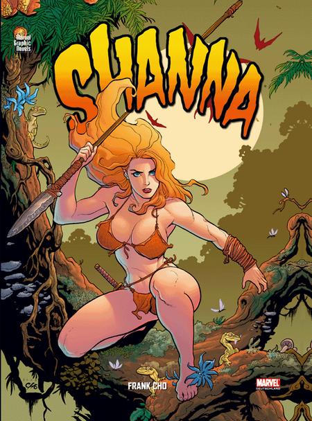 Marvel Graphic Novels 9: Shanna - Das Cover