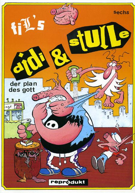 Didi & Stulle 6: Der Plan des Gott - Das Cover