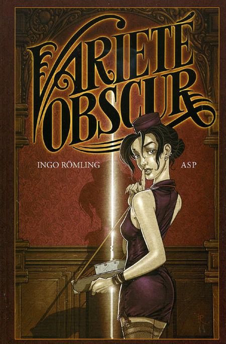 Varieté Obscur - Das Cover