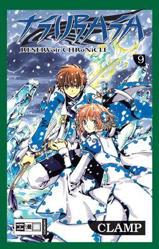 Tsubasa 9 - Das Cover