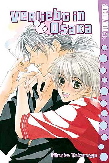 Verliebt in Osaka - Das Cover