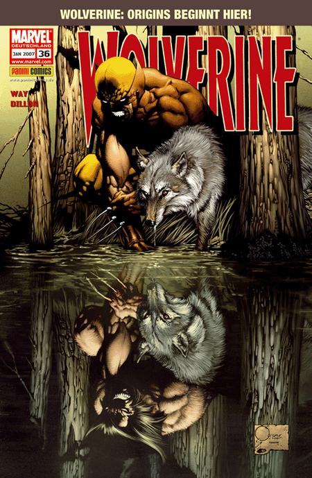 Wolverine 36 - Das Cover