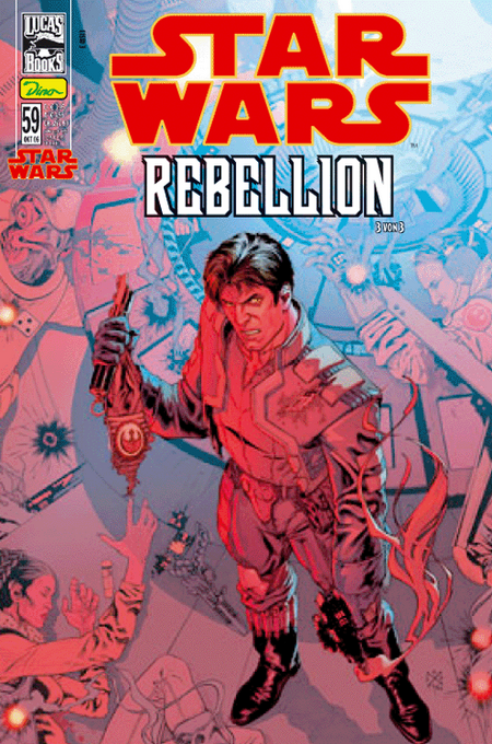Star Wars 59: Rebellion 3 von 4 - Das Cover