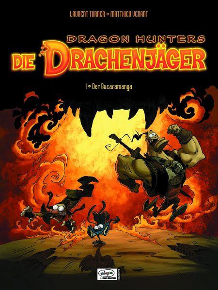 Die Drachenjäger - Das Cover
