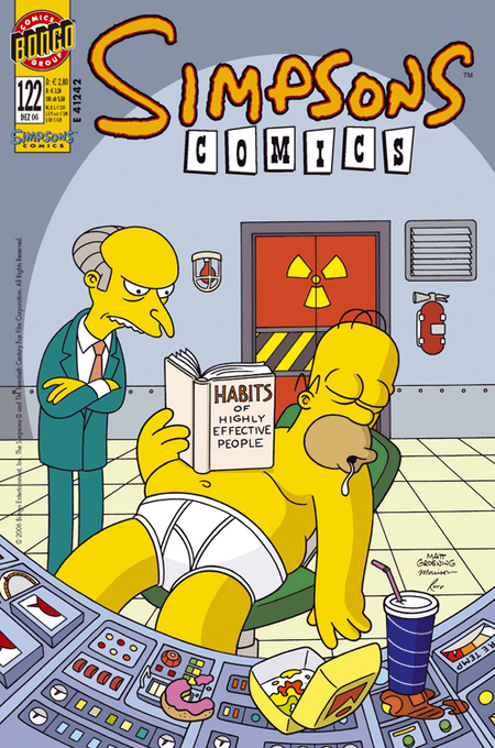Simpsons Comics 122 - Das Cover
