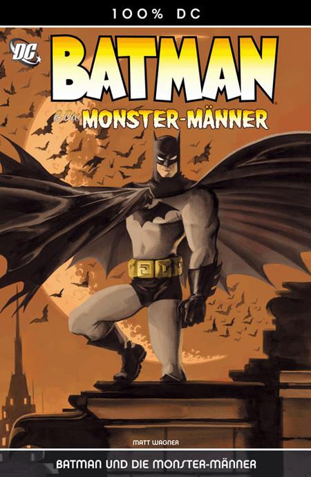100 % DC 5: Batman und die Monstermänner - Das Cover