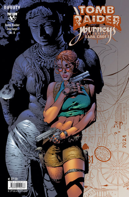 Tomb Raider: Journeys 8 - Das Cover