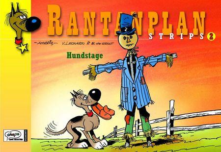 Rantanplan Strips 2: Hundstage - Das Cover