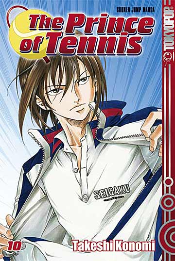 The Prince of Tennis 10 - Das Cover