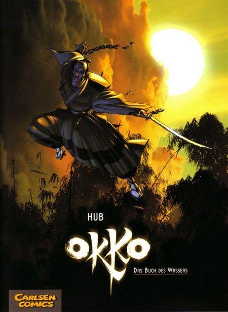 Okko 1: Das Buch des Wassers - Das Cover